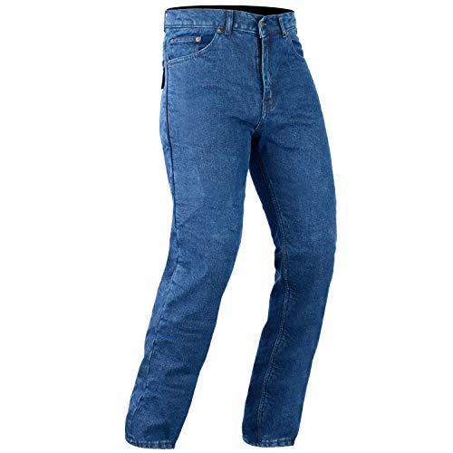 Bikers Gear Australia DKJ1001BLUE-30L DKJ1001BLUE-30L Pantaloni Jeans da Motociclista, Unisex adulto, Blu (Blue), 30L UK / 40L EU