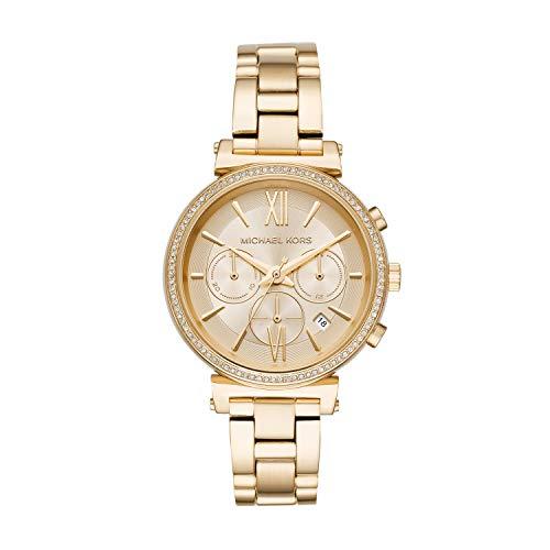 Michael Kors - Reloj de pulsera para mujer, color dorado