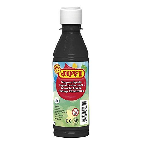 Jovi Tempera Liquida Escolar 250 ml Negro (50230)