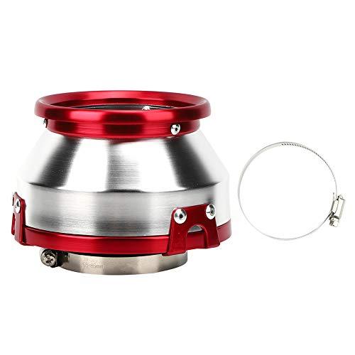 Air Filter,Car Air Filter Auto Air Filter 76mm/3in Modified Air Filter Car Motor Cold Air Intake Mushroom Head Universal Part(red)