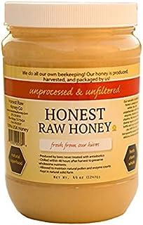 Sponsored Ad - Honest Raw Honey, Pure Natural American Honey, 44 Ounce