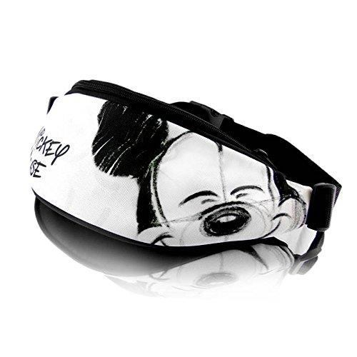 Disney Mikcey Mouse Smile Collection Juventud riñonera Bolsa de Cadera