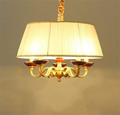 MARK Kronleuchter Französisch Seelsorge in den Schlafzimmern Lounge Kupfer Lampe Gemeinschaften Einfache Kronleuchter Lampe Licht Restaurant, Hot Modern American der keramischen Substanz der Beleuchtu