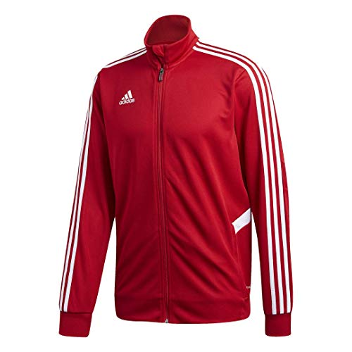 adidas Men's Soccer Tiro Track Jacket  Team Power Red/White Large