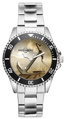 Geschenk für Segler Schiffer Kapitäne Bootsbauer Uhr 2717