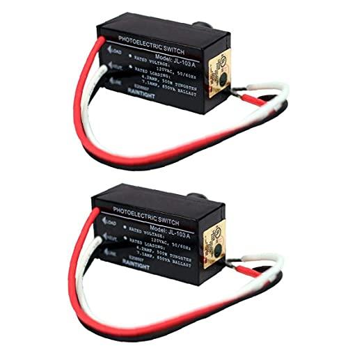 Control de interruptor de luz de fotocélula Jl-103a Mini Auto con sensor de crepúsculo crepuscular para iluminación nocturna al aire libre 2 uds equipo de automatización industrial