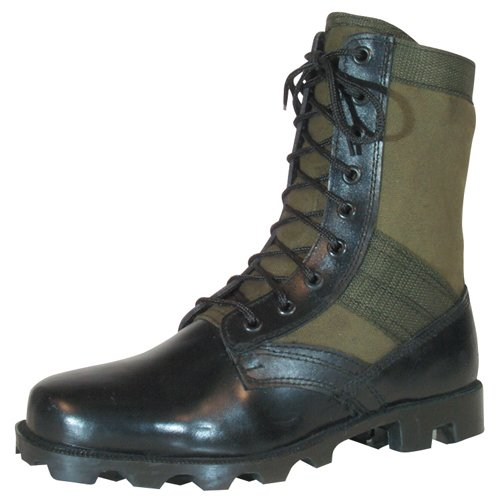 Fox Outdoor Products Vietnam Jungle Boot, Wide Olive Drab, Size 11