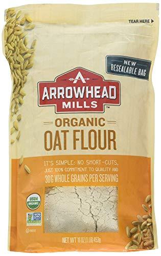 Arrowhead Mills Flour Oat Organic, 16 oz (2 Pack)