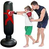 Saco de Boxeo Inflable Niños, Speyang Bolsa de Boxeo Inflab
