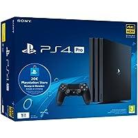 Sony Playstation 4 Pro (PS4) Consola de 1TB + 20 euros Tarjeta Prepago (Edición Exclusiva Amazon) - nuevo chasis G