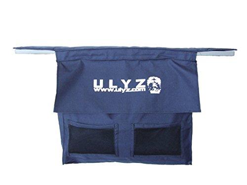 ULYZ Aufbewahrungstasche für Schlauchboote Sitz (Blau, 85 cm)