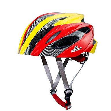 MEEX Casco de Bicicleta Deportivo Unisex con 18 Rejillas de Ventilación para...