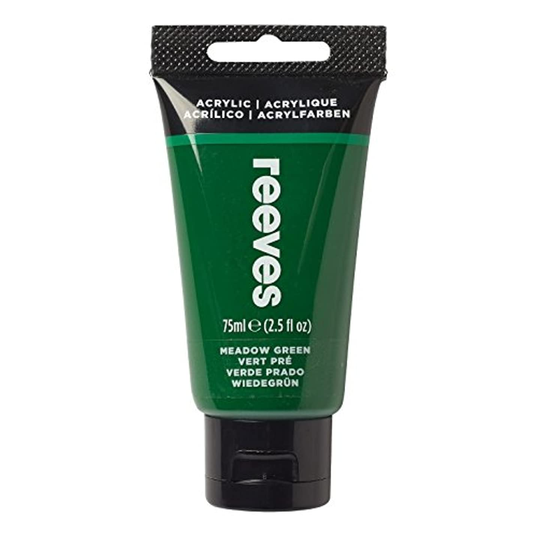 Reeves Acrylic Paint, Grass Green, 75 ml wljxbll760