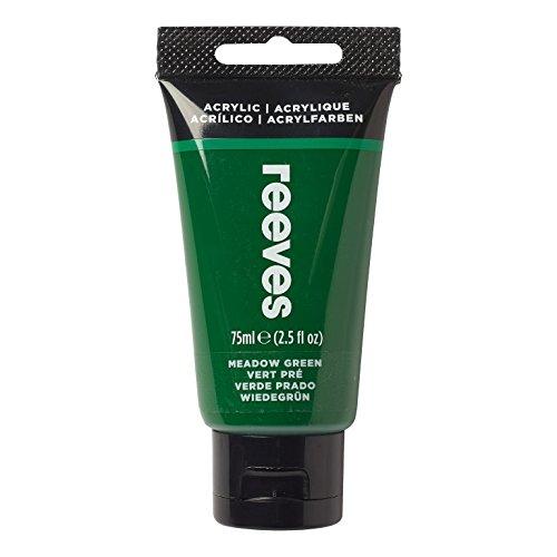Reeves - Pintura acrílica 75 ml, Verde Prado