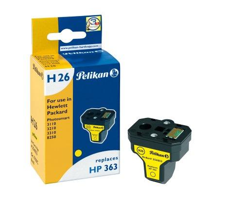Pelikan 354853 - Cartucho de Tinta HP Photosmart 8250-363 - C8773EE - Amarillo