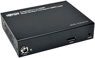 Tripp Lite 4-Port DisplayPort 1.2 to HDMI Multi-Stream Transport (MST) Hub, 3840x2160 4K x 2K @ 24/30Hz (B156-004-HD)