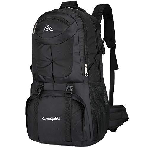 Rucksack mit internem Rahmen, 60 l, wasserdicht, Camping-Rucksack, Tagesrucksack