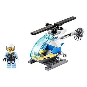 Amazon.co.jp - レゴ シティ ポリスヘリコプター ミニセット 30367