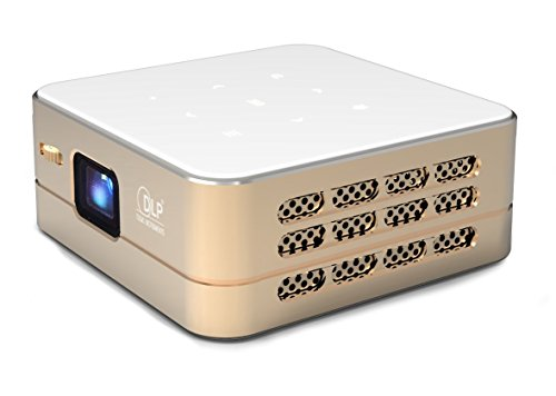 TecTecTec! [Nouveau] Mini Projecteur WiFi VPRO1 Android - Pico Videoprojecteur Haute Résolution avec WiFi, Bluetooth, USB et HDMi - Home Cinéma de Poche