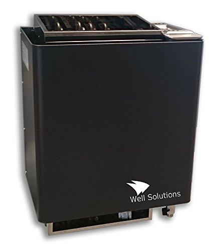 Well Solutions Bi-o Mat Premium Kombi Saunaofen 9 kW Original Well Solutions Bi-o Ofen - Made in Germany