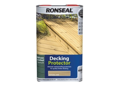 Ronseal DPNO5L Decking Protector Natural Oak 5 L