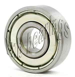 6000-Z Radial Ball Bearing Double Shielded Bore Dia. 10mm OD 26mm Width 8mm
