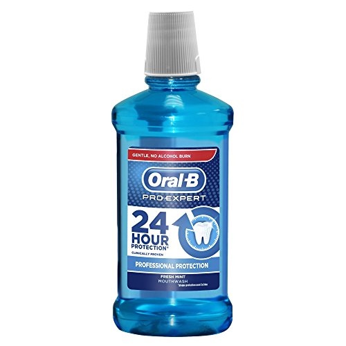 Oral-B Pro-Expert Professional Protection Mouthwash, 500 ml