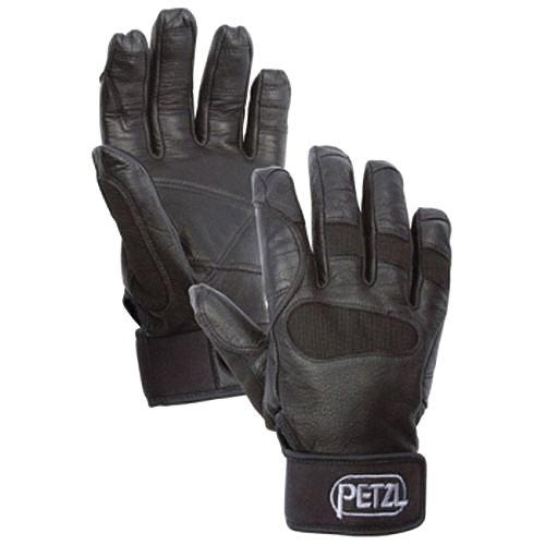 Petzl CORDEX+ Belay/rap - Guantes (talla L), color negro