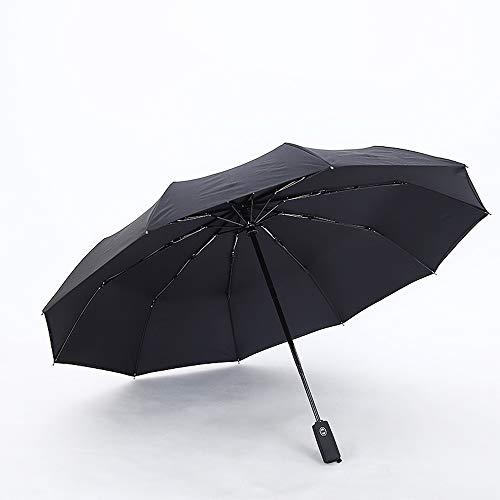 Xiao Jian- Automatische paraplu voor mannen en vrouwen regen en zon Dual-use zon paraplu blokkeren UV zon paraplu
