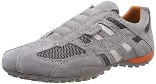 Geox Herren Uomo Snake L Sneaker, Grau (Grey C1006), 40 EU