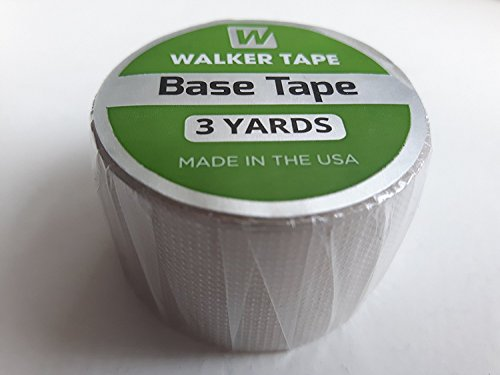 Base Tape by Walker - 1in x 3 yards - for Toupees, Wigs, Hairpieces & Hair Replacement Systems by StickyTapes