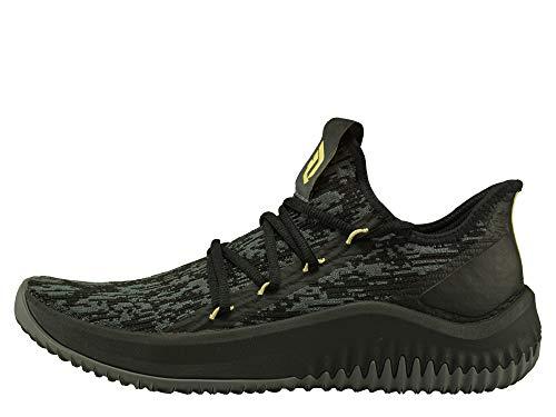 adidas Dame D.o.l.l.a, Zapatos de Baloncesto para Hombre, Negro (Cblack/Grefiv/Gold MT Cblack/Grefiv/Gold MT), 46 2/3 EU