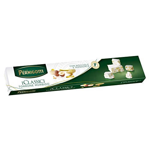 Pernigotti Torrone Bianco Morbido con Nocciola e Mandorla - 250 g