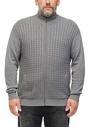 s.Oliver Big Size Herren 131.10.009.17.150.2060279 Pullover, Light Grey, 4XL
