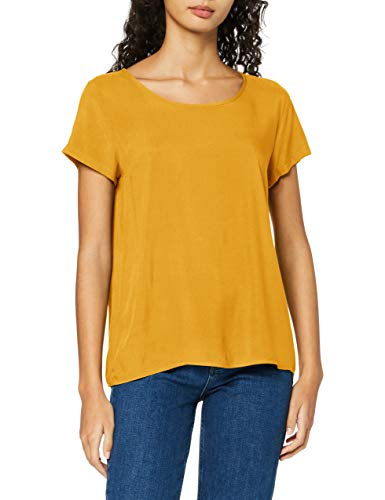 ONLY Damen ONLFIRST ONE Life SS SOLID TOP NOOS WVN T-Shirt, Hedge Green, 40