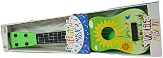 AOM Pleasant Flowers Musical Guitar for Kids 21 Size Kids Guitar