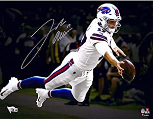 "Josh Allen Buffalo Bills Autographed 11"" x 14"" Spotlight Photograph - Fanatics Authentic Certified - Autographed NFL Photos"