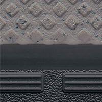サンゲツ ノンスキッド ノンスキッド・ステップ(階段)〈蹴込み一体タイプ〉 (PX-8924) 【1ケース8枚入】 ダイヤエンボスタイプ 巾1210mm 2.5mm厚(段鼻部4.5mm厚) | 完全屋外使用OK