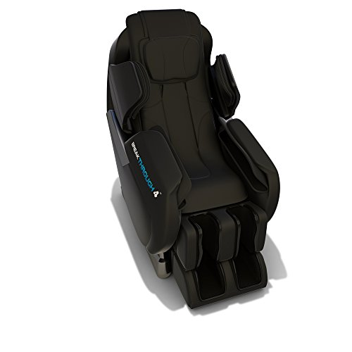 MB 4 Massage Chair Recliner (v 1.0) - Zero Gravity, Built-in Heat, Swedish Deep Tissue Shiatsu Massage, Back Stretch (Black)