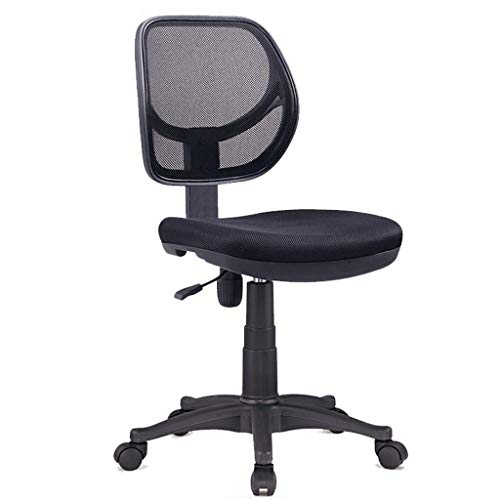 Silla de oficina Silla de escritorio ergonómica Silla de computadora Sencilla para el estudiante en el hogar La silla simple sin sillón puede levantar la silla Silla de oficina Silla de ordenador para