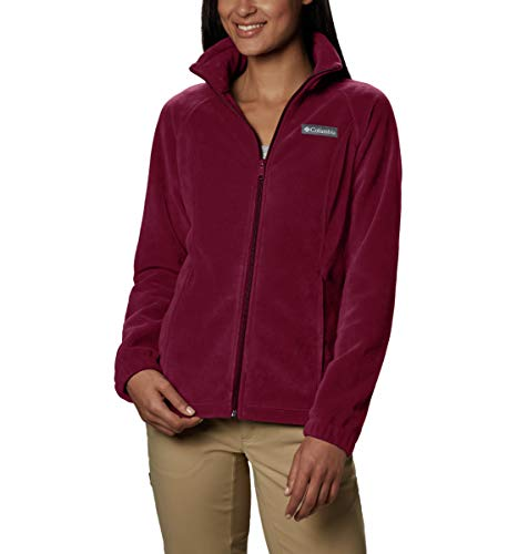 Columbia womens Benton Springs Fleece Jacket, Rich Wine, X-Small US