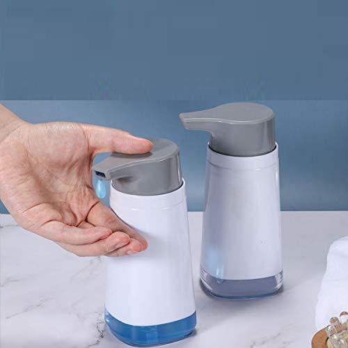 IceFrog Desinfektionsmittelspender, 2er-Set Seifenspender Plastik 300 ml Desinfektionsspender für eine hygienische Applikation von Desinfektions, Wasch und spülmittel spülmittelspender pumpflasche