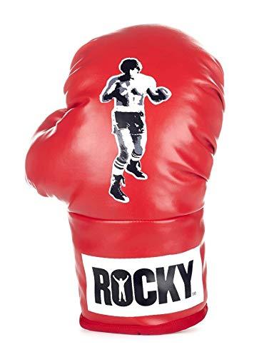 USA OFFICIAL Rocky - Par de guantes rojos de 26 cm, para box