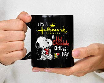 Not Branded Jasmin It's A HALLMARK Channel And Hot Chocolate Kind Of Day Mug Christmas Mug 31x10