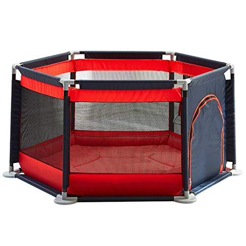 XHCP Adorable Centro de Juegos de Seguridad Patio Parque Infantil para bebés Centro de Actividades para niños Tiendas de Juegos Infantiles Altura de Seguridad Cerca para bebés con Bolsa de almace