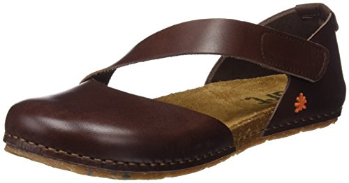 Art Creta, Sandali Punta Chiusa Donna, Marrone (Brown Brown), 39 EU