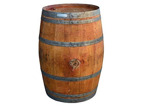 Tonneau de Decoration, Baril de vin comme Table Bar 225 litres en Bois de chêne Massif (Bois huilé)