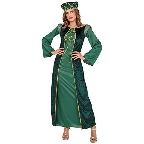 Widmann 44263 - Kostüm Eleonore, Kleid und Hut, Königin, Prinzessin, feine Dame, Renaissance, Verkleidung, Karneval, Mottoparty