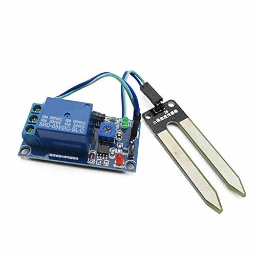 LianShi 5V Bodenfeuchte Sensor Controller Modul Erkennung Wasser Sensor automatisch Bewässerung
