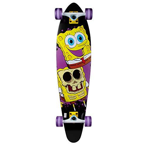 Kryptonics Spongebob 36' Longboard Complete Skateboard - Big Reveal, Yellow, Model Number: 169951